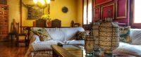 DEtalle del salon comedor de El Torreon de Joaquin en Asin