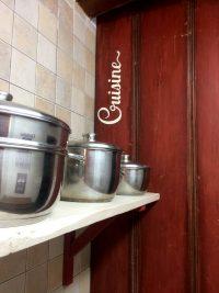 detalle de una parte de la cocina